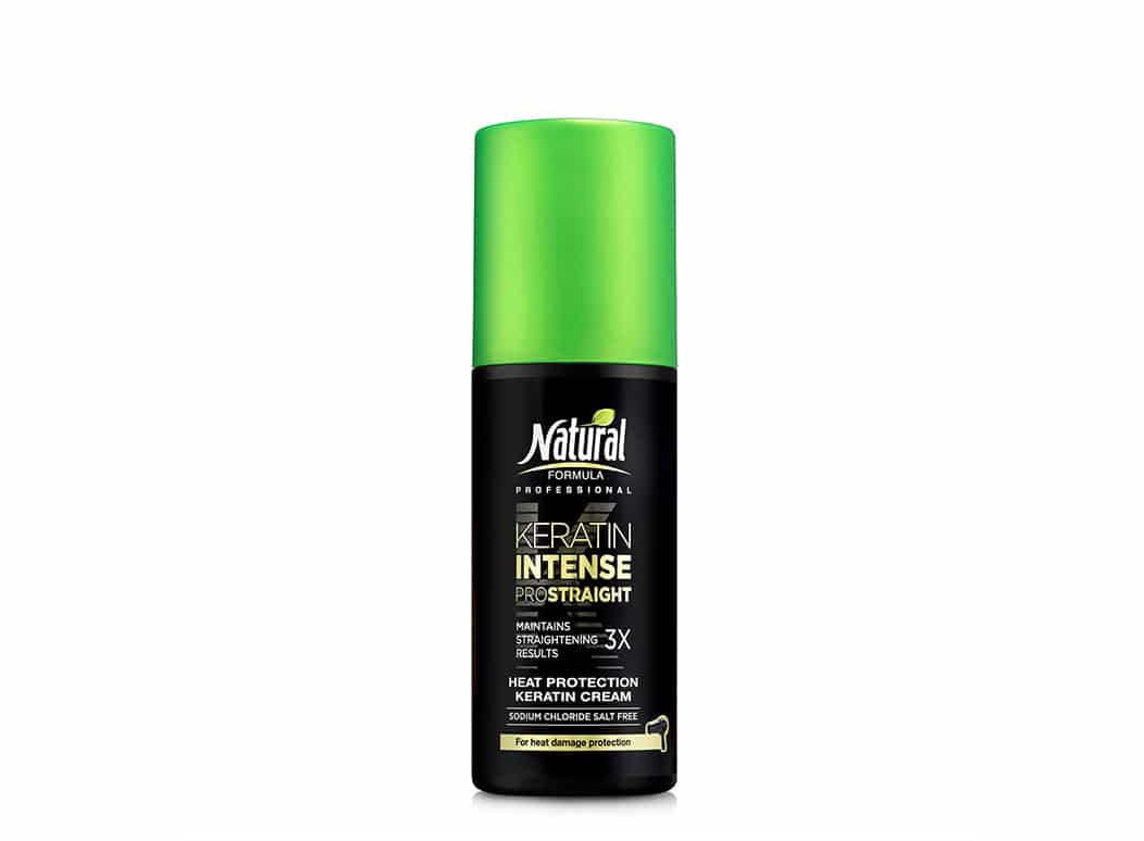 Keratin Intense Heat Protection Cream
